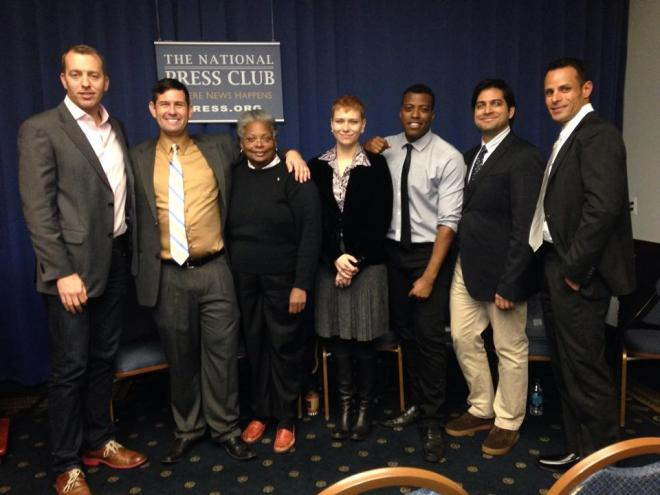 LGBTs In The News panel at National Press Club